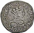 Photo numismatique  ARCHIVES VENTE 2015 -26-28 oct -Coll Jean Teitgen DUCHÉ DE LORRAINE CHARLES III, le Grand Duc (1545-1608)  1142- Teston, Nancy.