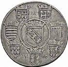 Photo numismatique  ARCHIVES VENTE 2015 -26-28 oct -Coll Jean Teitgen DUCHÉ DE LORRAINE CHARLES III, le Grand Duc (1545-1608) Monnayage de 1564 à 1574 1144- Thaler, 1569.
