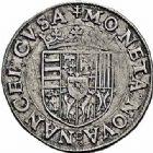 Photo numismatique  ARCHIVES VENTE 2015 -26-28 oct -Coll Jean Teitgen DUCHÉ DE LORRAINE CHARLES III, le Grand Duc (1545-1608) Monnayage de 1564 à 1574 1145- Teston, Nancy.