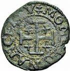 Photo numismatique  ARCHIVES VENTE 2015 -26-28 oct -Coll Jean Teitgen DUCHÉ DE LORRAINE CHARLES III, le Grand Duc (1545-1608) Monnayage de 1564 à 1574 1148- Double denier, Nancy.