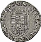 Photo numismatique  ARCHIVES VENTE 2015 -26-28 oct -Coll Jean Teitgen DUCHÉ DE LORRAINE CHARLES III, le Grand Duc (1545-1608) Monnayage de 1574 à 1580 1150- Teston, Nancy (1574).
