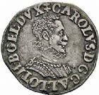 Photo numismatique  ARCHIVES VENTE 2015 -26-28 oct -Coll Jean Teitgen DUCHÉ DE LORRAINE CHARLES III, le Grand Duc (1545-1608) Monnayage de 1581 à 1608 1152- Quart de teston, Nancy 1581.