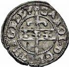 Photo numismatique  ARCHIVES VENTE 2015 -26-28 oct -Coll Jean Teitgen DUCHÉ DE LORRAINE CHARLES III, le Grand Duc (1545-1608) Monnayage de 1581 à 1608 1154- Liard de 3 deniers, Nancy 1581.