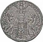 Photo numismatique  ARCHIVES VENTE 2015 -26-28 oct -Coll Jean Teitgen DUCHÉ DE LORRAINE CHARLES III, le Grand Duc (1545-1608) Monnayage de 1581 à 1608 1157- Thaler, Nancy 1603.