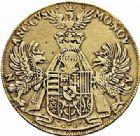 Photo numismatique  ARCHIVES VENTE 2015 -26-28 oct -Coll Jean Teitgen DUCHÉ DE LORRAINE CHARLES III, le Grand Duc (1545-1608) Monnayage de 1581 à 1608 1158- Moulages des thaler 1603, or et alliage.