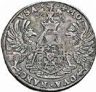 Photo numismatique  ARCHIVES VENTE 2015 -26-28 oct -Coll Jean Teitgen DUCHÉ DE LORRAINE CHARLES III, le Grand Duc (1545-1608) Monnayage de 1581 à 1608 1159- Demi-thaler ou florin d'argent, Nancy.