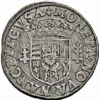Photo numismatique  ARCHIVES VENTE 2015 -26-28 oct -Coll Jean Teitgen DUCHÉ DE LORRAINE CHARLES III, le Grand Duc (1545-1608) Monnayage de 1581 à 1608 1162- Teston.