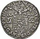 Photo numismatique  ARCHIVES VENTE 2015 -26-28 oct -Coll Jean Teitgen DUCHÉ DE LORRAINE CHARLES III, le Grand Duc (1545-1608)  1169- Jeton d'argent, 1570.