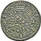 Photo numismatique  ARCHIVES VENTE 2015 -26-28 oct -Coll Jean Teitgen DUCHÉ DE LORRAINE CHARLES III, le Grand Duc (1545-1608)  1172- Jeton de petit module, 1588.