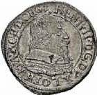 Photo numismatique  ARCHIVES VENTE 2015 -26-28 oct -Coll Jean Teitgen DUCHÉ DE LORRAINE HENRI II, le Bon Duc (1608-1624)  1179- Quart de teston, Nancy.