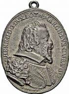 Photo numismatique  ARCHIVES VENTE 2015 -26-28 oct -Coll Jean Teitgen DUCHÉ DE LORRAINE HENRI II, le Bon Duc (1608-1624)  1184- Médaille, 1612.