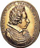 Photo numismatique  ARCHIVES VENTE 2015 -26-28 oct -Coll Jean Teitgen DUCHÉ DE LORRAINE HENRI II, le Bon Duc (1608-1624)  1185- Médaille, 1621.