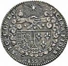Photo numismatique  ARCHIVES VENTE 2015 -26-28 oct -Coll Jean Teitgen DUCHÉ DE LORRAINE HENRI II, le Bon Duc (1608-1624)  1187- Jeton du mariage, 1599.