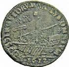 Photo numismatique  ARCHIVES VENTE 2015 -26-28 oct -Coll Jean Teitgen DUCHÉ DE LORRAINE HENRI II, le Bon Duc (1608-1624)  1188- Jeton de la Chambre des aydes, 1612.