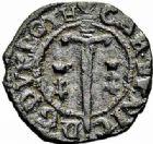 Photo numismatique  ARCHIVES VENTE 2015 -26-28 oct -Coll Jean Teitgen DUCHÉ DE LORRAINE CHARLES IV et NICOLE (1624-1625)  1195- Double denier.