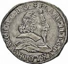 Photo numismatique  ARCHIVES VENTE 2015 -26-28 oct -Coll Jean Teitgen DUCHÉ DE LORRAINE FRANCOIS II (1625-1632), comte de Salm  1196- Teston, Badonvillers 1626.