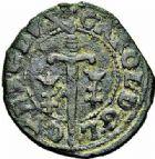 Photo numismatique  ARCHIVES VENTE 2015 -26-28 oct -Coll Jean Teitgen DUCHÉ DE LORRAINE CHARLES IV, 1ère période (1626-1634)  1206- Double denier.