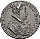 Photo numismatique  ARCHIVES VENTE 2015 -26-28 oct -Coll Jean Teitgen DUCHÉ DE LORRAINE CHRISTINE de Lorraine (1565-1636)  1208- Médaille italienne, vers 1590.