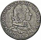 Photo numismatique  ARCHIVES VENTE 2015 -26-28 oct -Coll Jean Teitgen DUCHÉ DE LORRAINE NICOLAS-FRANCOIS (1633-1637)  1209- Teston, Florence 1634.