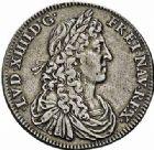 Photo numismatique  ARCHIVES VENTE 2015 -26-28 oct -Coll Jean Teitgen DUCHÉ DE LORRAINE OCCUPATION FRANCAISE (1633-1661) Louis XIV (1643-1715) 1212- Jeton d'argent, 1661.