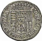 Photo numismatique  ARCHIVES VENTE 2015 -26-28 oct -Coll Jean Teitgen DUCHÉ DE LORRAINE CHARLES IV, Guerre de libération (1638-1639)  1213- Teston, Remiremont 1638.