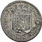 Photo numismatique  ARCHIVES VENTE 2015 -26-28 oct -Coll Jean Teitgen DUCHÉ DE LORRAINE CHARLES IV, 2ème période (1661-1675)  1217- Demi-teston, Nancy 1663.