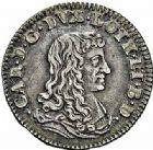 Photo numismatique  ARCHIVES VENTE 2015 -26-28 oct -Coll Jean Teitgen DUCHÉ DE LORRAINE CHARLES IV, 2ème période (1661-1675)  1219- Quart de teston, Nancy 1666.