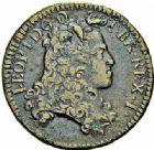 Photo numismatique  ARCHIVES VENTE 2015 -26-28 oct -Coll Jean Teitgen DUCHÉ DE LORRAINE LEOPOLD Ier (1690-1729)  1231- Liard, 1706 (7 sur 6).