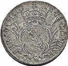 Photo numismatique  ARCHIVES VENTE 2015 -26-28 oct -Coll Jean Teitgen DUCHÉ DE LORRAINE LEOPOLD Ier (1690-1729)  1233- Écu d'argent ou Léopold, 1710.