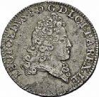 Photo numismatique  ARCHIVES VENTE 2015 -26-28 oct -Coll Jean Teitgen DUCHÉ DE LORRAINE LEOPOLD Ier (1690-1729)  1247- Double teston ou demi-écu, 1719.