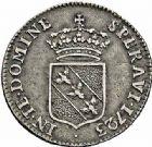 Photo numismatique  ARCHIVES VENTE 2015 -26-28 oct -Coll Jean Teitgen DUCHÉ DE LORRAINE LEOPOLD Ier (1690-1729)  1250- Teston, 1723.