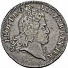 Photo numismatique  ARCHIVES VENTE 2015 -26-28 oct -Coll Jean Teitgen DUCHÉ DE LORRAINE LEOPOLD Ier (1690-1729)  1253- Écu d'Aubonne ou léopold d'argent, 1725.