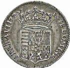 Photo numismatique  ARCHIVES VENTE 2015 -26-28 oct -Coll Jean Teitgen DUCHÉ DE LORRAINE LEOPOLD Ier (1690-1729)  1254- Sixième d'aubonne ou sixième de léopold d'argent, 1725.