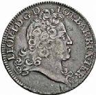 Photo numismatique  ARCHIVES VENTE 2015 -26-28 oct -Coll Jean Teitgen DUCHÉ DE LORRAINE LEOPOLD Ier (1690-1729)  1255- Petit-écu d'argent ou léopold d'argent aux huit L, 1726.