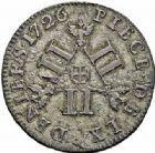 Photo numismatique  ARCHIVES VENTE 2015 -26-28 oct -Coll Jean Teitgen DUCHÉ DE LORRAINE LEOPOLD Ier (1690-1729)  1256- Pièce de 60 deniers, 1726.