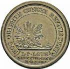 Photo numismatique  ARCHIVES VENTE 2015 -26-28 oct -Coll Jean Teitgen DUCHÉ DE LORRAINE LEOPOLD Ier (1690-1729)  1262- Médaille pour la naissance de Louis, le 28 janvier 1704.