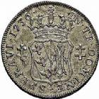 Photo numismatique  ARCHIVES VENTE 2015 -26-28 oct -Coll Jean Teitgen DUCHÉ DE LORRAINE FRANCOIS III (1729-1737)  1265- Teston, 1736.