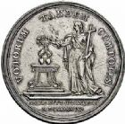Photo numismatique  ARCHIVES VENTE 2015 -26-28 oct -Coll Jean Teitgen DUCHÉ DE LORRAINE FRANCOIS III (1729-1737)  1266- Jeton du mariage du duc avec Marie-Thérèse d'Autriche, 1736.