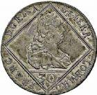 Photo numismatique  ARCHIVES VENTE 2015 -26-28 oct -Coll Jean Teitgen DUCHÉ DE LORRAINE FRANCOIS III, Gd duc de Toscane (1737-1745), empereur (1745-1765)  1271- 30 kreuzer, 1753.