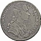 Photo numismatique  ARCHIVES VENTE 2015 -26-28 oct -Coll Jean Teitgen DUCHÉ DE LORRAINE PIERRE LEOPOLD Ier de Lorraine (1765-1790), Gd duc de Toscane  1273- Thaler ou francescone, 1784.