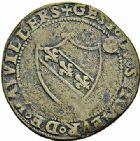 Photo numismatique  ARCHIVES VENTE 2015 -26-28 oct -Coll Jean Teitgen DUCHÉ DE LORRAINE NOBLESSE DE LORRAINE Nicolas II du Châtelet, seigneur de Vauvillers (1534-1562) 1281-  Jeton.