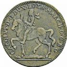 Photo numismatique  ARCHIVES VENTE 2015 -26-28 oct -Coll Jean Teitgen DUCHÉ DE LORRAINE JETONS de l'HÔTEL DE VILLE DE NANCY  1286- Jeton, 1663 (2).