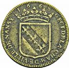Photo numismatique  ARCHIVES VENTE 2015 -26-28 oct -Coll Jean Teitgen DUCHÉ DE LORRAINE JETONS de l'HÔTEL DE VILLE DE NANCY  1287- Jeton, 1668.