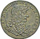 Photo numismatique  ARCHIVES VENTE 2015 -26-28 oct -Coll Jean Teitgen DUCHÉ DE LORRAINE JETONS de l'HÔTEL DE VILLE DE NANCY  1288- Jeton, 1669.