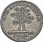 Photo numismatique  ARCHIVES VENTE 2015 -26-28 oct -Coll Jean Teitgen DUCHÉ DE LORRAINE MEDAILLES  et JETONS des SAINT-URBAIN Jetons 1298- Jeton de François-Étienne, fils puiné de Léopold, 1714.