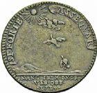 Photo numismatique  ARCHIVES VENTE 2015 -26-28 oct -Coll Jean Teitgen DUCHÉ DE LORRAINE MEDAILLES  et JETONS des SAINT-URBAIN Jetons 1299- Jetons de Léopold-Clément et de François-Étienne, fils de Léopold, 1714.
