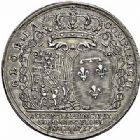 Photo numismatique  ARCHIVES VENTE 2015 -26-28 oct -Coll Jean Teitgen DUCHÉ DE LORRAINE MEDAILLES  et JETONS des SAINT-URBAIN Jetons 1301- Jeton d'Elisabeth Charlotte, duchesse de Lorraine, 1737.