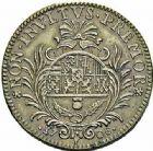 Photo numismatique  ARCHIVES VENTE 2015 -26-28 oct -Coll Jean Teitgen DUCHÉ DE LORRAINE MEDAILLES  et JETONS des SAINT-URBAIN Jetons dela ville de Nancy 1303- Jeton de 1708.