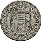 Photo numismatique  ARCHIVES VENTE 2015 -26-28 oct -Coll Jean Teitgen LOCALITES APPARENTEES A LA LORRAINE Seigneurie de CHATEAU-REGNAULT Louise -Marguerite de LORRAINE (1614-1629) 1314- Quatre sols ou quatre patards.