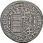 Photo numismatique  ARCHIVES VENTE 2015 -26-28 oct -Coll Jean Teitgen LOCALITES APPARENTEES A LA LORRAINE Seigneurie de FENESTRANGE Diane de DOMMARTIN (1553-1625) 1316- Teston ou quart de thaler (1618).